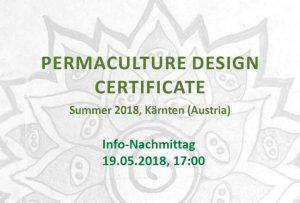 Info Nachmittag: Permakultur Design Zertifikatskurs 2018 @ E.R.D.E.* | Villach | Kärnten | Österreich