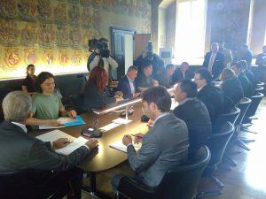 Ausschusssitzung für BürgerInnenbeteiligung, direkte Demokratie und Petitionen