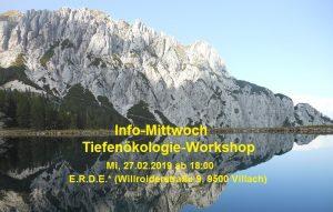 Tiefenökologie-Workshop @ E.R.D.E.*