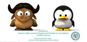 Was ein GNU und ein Pinguin mit Freiheit zu tun haben?