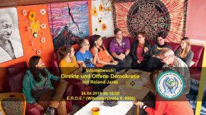 Infomittwoch: Direkte und Offene Demokratie @ E.R.D.E.*