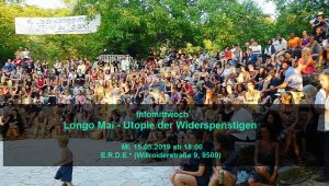 """Info-Mittwoch: """"Longo Mai - Utopie der Wiederspenstigen"""""""
