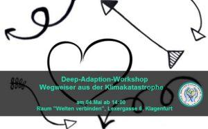Deep-Adaption Workshop - Wegweiser durch die Klimakatastrophe @ Welten-verbinden