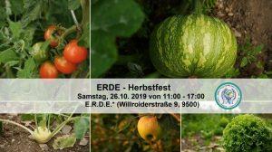ERDE - Herbstfest @ E.R.D.E.*