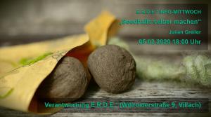 "Seedballs selber machen"" – Workshop+kleiner Input @ E.R.D.E.*"