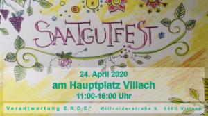 ABGESAGT - Saatgutschenkfest #4 am Villacher Hauptplatz @ Hauptplatz Villach