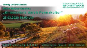 ABGESAGT - Klimaschutz durch Permakultur @ E.R.D.E.*