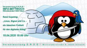 """Linux, Signal und Co. - ein bisschen Freiheit für den digitalen Alltag"""" 🏴☠️🌈🐧 @ E.R.D.E.*"""
