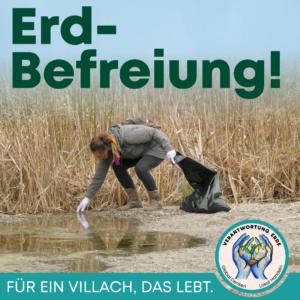 Erd-Befreiung @ Grünsee und Magdalensee, Villach